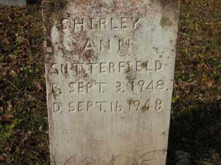 SUTTERFIELD, SHIRLEY - Stone County, Arkansas | SHIRLEY SUTTERFIELD - Arkansas Gravestone Photos