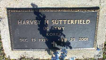SUTTERFIELD (VETERAN KOR), HARVEY H - Stone County, Arkansas | HARVEY H SUTTERFIELD (VETERAN KOR) - Arkansas Gravestone Photos