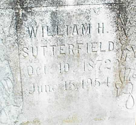 SUTTERFIELD, WILLIAM H. - Stone County, Arkansas | WILLIAM H. SUTTERFIELD - Arkansas Gravestone Photos