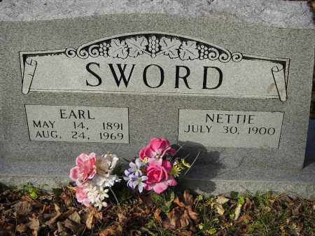 SWORD, EARL - Stone County, Arkansas | EARL SWORD - Arkansas Gravestone Photos