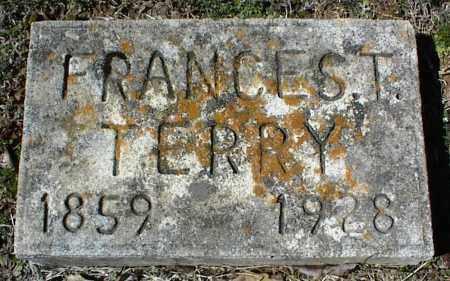 TERRY, FRANCES T. - Stone County, Arkansas | FRANCES T. TERRY - Arkansas Gravestone Photos