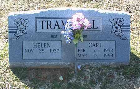 TRAMMELL, CARL - Stone County, Arkansas | CARL TRAMMELL - Arkansas Gravestone Photos
