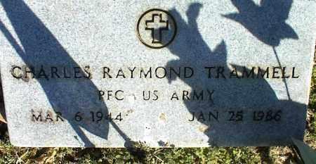 TRAMMELL (VETERAN), CHARLES RAYMOND - Stone County, Arkansas   CHARLES RAYMOND TRAMMELL (VETERAN) - Arkansas Gravestone Photos
