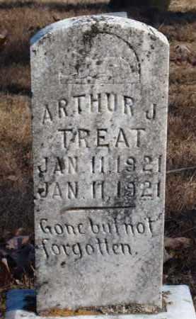 TREAT, ARTHUR J. - Stone County, Arkansas   ARTHUR J. TREAT - Arkansas Gravestone Photos