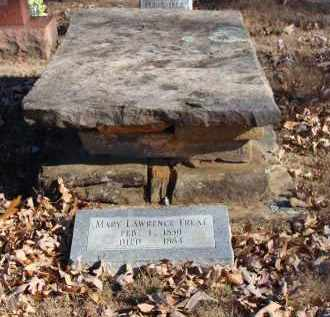 LAWRENCE TREAT, MARY - Stone County, Arkansas | MARY LAWRENCE TREAT - Arkansas Gravestone Photos