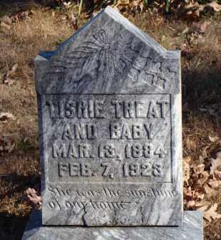 LAWRENCE TREAT, TISHIE - Stone County, Arkansas | TISHIE LAWRENCE TREAT - Arkansas Gravestone Photos