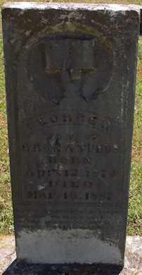 TUBBS, GEORGE W - Stone County, Arkansas   GEORGE W TUBBS - Arkansas Gravestone Photos