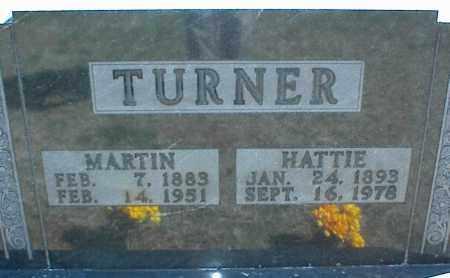 TURNER, MARTIN - Stone County, Arkansas | MARTIN TURNER - Arkansas Gravestone Photos