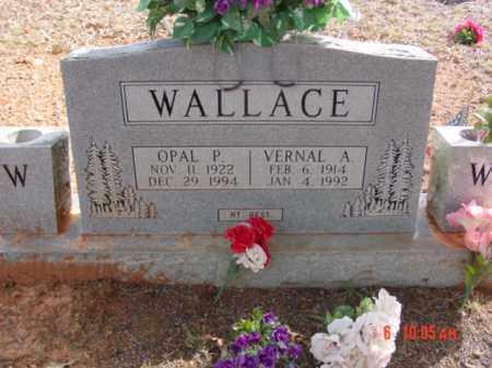 CARWRIGHT WALLACE, OPAL - Stone County, Arkansas | OPAL CARWRIGHT WALLACE - Arkansas Gravestone Photos