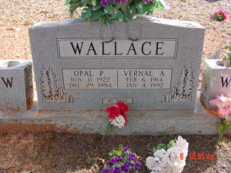 WALLACE, VERNAL - Stone County, Arkansas | VERNAL WALLACE - Arkansas Gravestone Photos