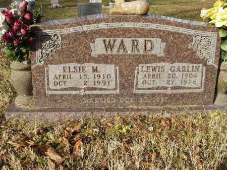WARD, LEWIS GARLIN - Stone County, Arkansas | LEWIS GARLIN WARD - Arkansas Gravestone Photos