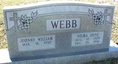 WEBB, VELMA IRENE - Stone County, Arkansas | VELMA IRENE WEBB - Arkansas Gravestone Photos
