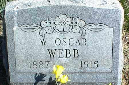 WEBB, W. OSCAR - Stone County, Arkansas   W. OSCAR WEBB - Arkansas Gravestone Photos