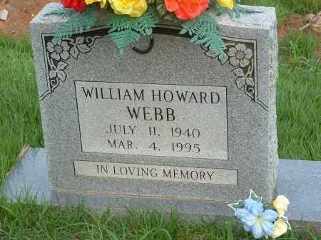 WEBB, WILLIAM HOWARD - Stone County, Arkansas   WILLIAM HOWARD WEBB - Arkansas Gravestone Photos