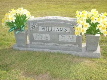 WILLIAMS, WALTER L. - Stone County, Arkansas | WALTER L. WILLIAMS - Arkansas Gravestone Photos