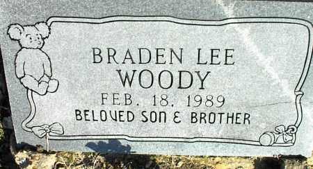 WOODY, BRADEN LEE - Stone County, Arkansas | BRADEN LEE WOODY - Arkansas Gravestone Photos
