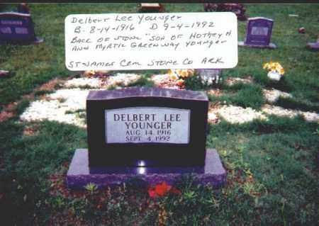 YOUNGER, DELBERT LEE - Stone County, Arkansas | DELBERT LEE YOUNGER - Arkansas Gravestone Photos