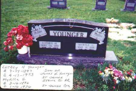 YOUNGER, MYRTLE PLUMA - Stone County, Arkansas | MYRTLE PLUMA YOUNGER - Arkansas Gravestone Photos