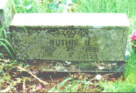YOUNGER YOUNGER, RUTHA VIOLA - Stone County, Arkansas | RUTHA VIOLA YOUNGER YOUNGER - Arkansas Gravestone Photos