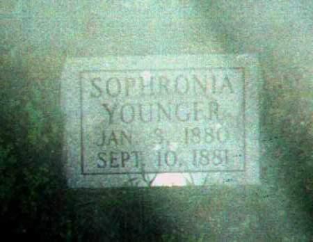 YOUNGER, SOPHRONIA - Stone County, Arkansas | SOPHRONIA YOUNGER - Arkansas Gravestone Photos