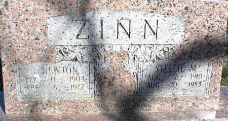 ZINN, J. NEWTON - Stone County, Arkansas | J. NEWTON ZINN - Arkansas Gravestone Photos