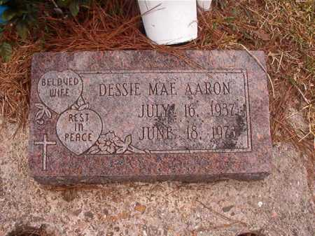AARON, DESSIE MAE - Union County, Arkansas | DESSIE MAE AARON - Arkansas Gravestone Photos