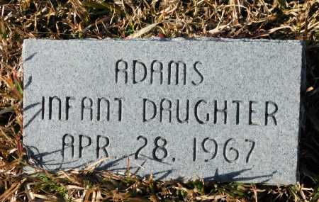 ADAMS, INFANT DAUGHTER - Union County, Arkansas | INFANT DAUGHTER ADAMS - Arkansas Gravestone Photos