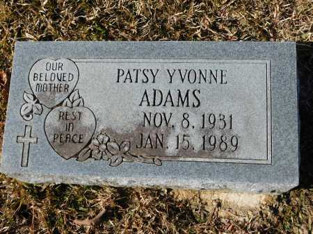 ADAMS, PATSY YVONNE - Union County, Arkansas | PATSY YVONNE ADAMS - Arkansas Gravestone Photos