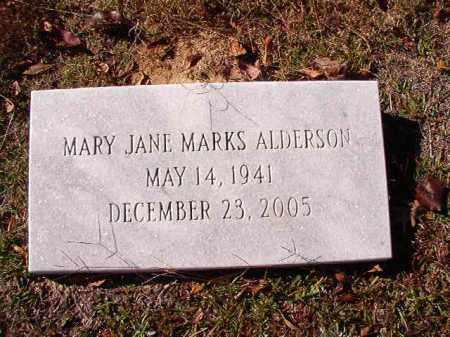 ALDERSON, MARY JANE - Union County, Arkansas | MARY JANE ALDERSON - Arkansas Gravestone Photos