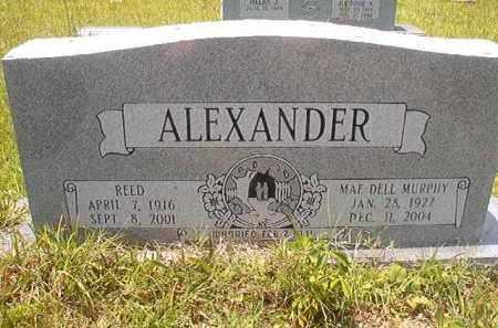 ALEXANDER, REED - Union County, Arkansas | REED ALEXANDER - Arkansas Gravestone Photos