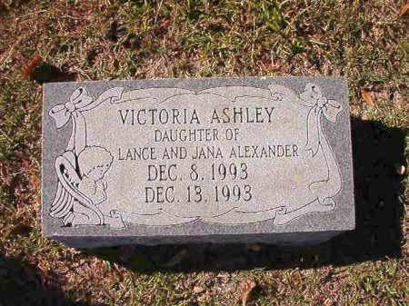 ALEXANDER, VICTORIA ASHLEY - Union County, Arkansas | VICTORIA ASHLEY ALEXANDER - Arkansas Gravestone Photos