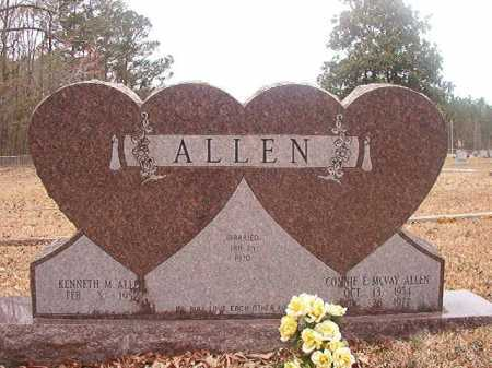 MCVAY ALLEN, CONNIE E - Union County, Arkansas | CONNIE E MCVAY ALLEN - Arkansas Gravestone Photos