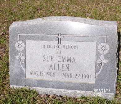 ALLEN, SUE EMMA - Union County, Arkansas | SUE EMMA ALLEN - Arkansas Gravestone Photos