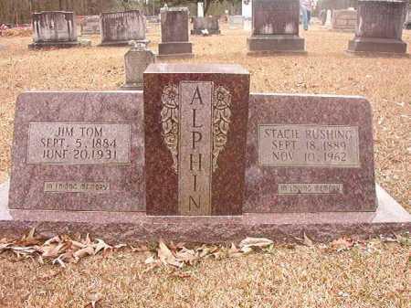 ALPHIN, JIM TOM - Union County, Arkansas | JIM TOM ALPHIN - Arkansas Gravestone Photos