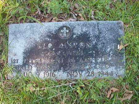 ALSTON (VETERAN WWII), LEO - Union County, Arkansas   LEO ALSTON (VETERAN WWII) - Arkansas Gravestone Photos