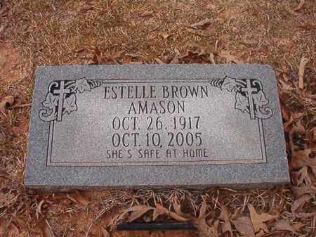AMASON, ESTELLE - Union County, Arkansas | ESTELLE AMASON - Arkansas Gravestone Photos