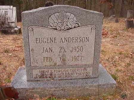 ANDERSON, EUGENE - Union County, Arkansas | EUGENE ANDERSON - Arkansas Gravestone Photos