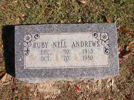 ANDREWS, RUBY NELL - Union County, Arkansas | RUBY NELL ANDREWS - Arkansas Gravestone Photos