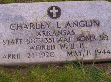 ANGLIN (VETERAN WWII ), CHARLEY L - Union County, Arkansas | CHARLEY L ANGLIN (VETERAN WWII ) - Arkansas Gravestone Photos