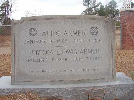 ARMER, REBECCA - Union County, Arkansas | REBECCA ARMER - Arkansas Gravestone Photos