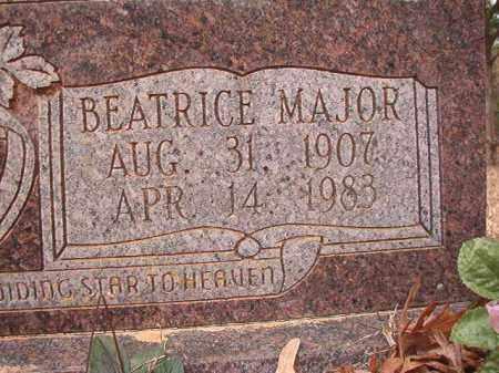 MAJOR ARMER, BEATRICE - Union County, Arkansas   BEATRICE MAJOR ARMER - Arkansas Gravestone Photos