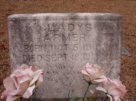 ARMER, GLADYS - Union County, Arkansas | GLADYS ARMER - Arkansas Gravestone Photos