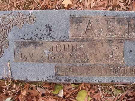 ARMER, JOHN LEMUEL - Union County, Arkansas   JOHN LEMUEL ARMER - Arkansas Gravestone Photos