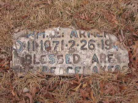ARMER, WILLIAM EDWARD - Union County, Arkansas | WILLIAM EDWARD ARMER - Arkansas Gravestone Photos