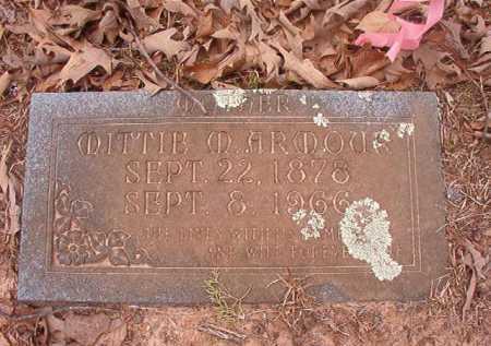 ARMOUR, MITTIE M - Union County, Arkansas   MITTIE M ARMOUR - Arkansas Gravestone Photos