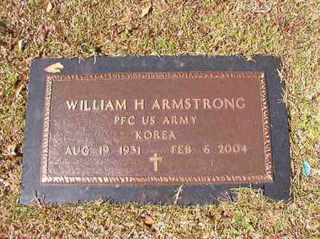 ARMSTRONG (VETERAN KOR), WILLIAM H - Union County, Arkansas   WILLIAM H ARMSTRONG (VETERAN KOR) - Arkansas Gravestone Photos