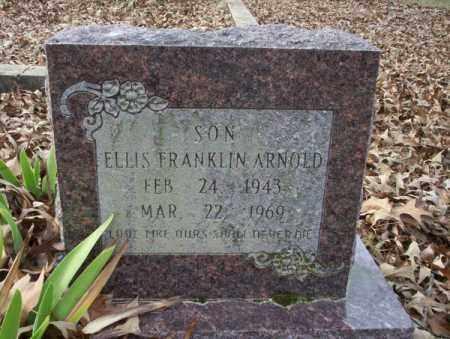 ARNOLD, ELLIS FRANKLIN - Union County, Arkansas   ELLIS FRANKLIN ARNOLD - Arkansas Gravestone Photos