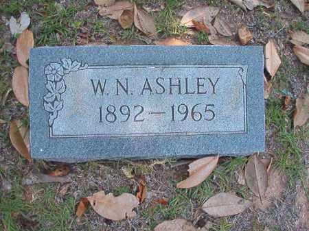 ASHLEY, W N - Union County, Arkansas   W N ASHLEY - Arkansas Gravestone Photos