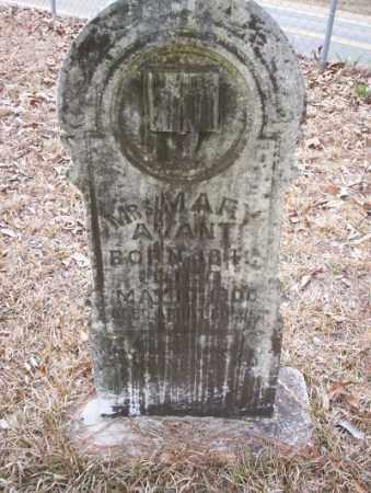 AVANT, MARY - Union County, Arkansas | MARY AVANT - Arkansas Gravestone Photos