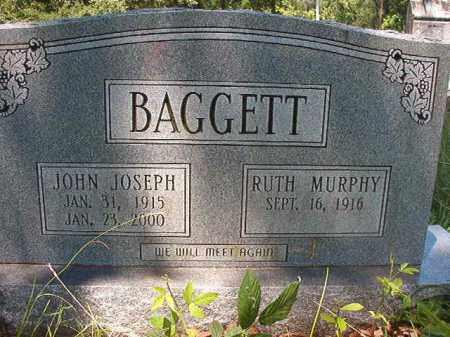BAGGETT, JOHN JOSEPH - Union County, Arkansas | JOHN JOSEPH BAGGETT - Arkansas Gravestone Photos